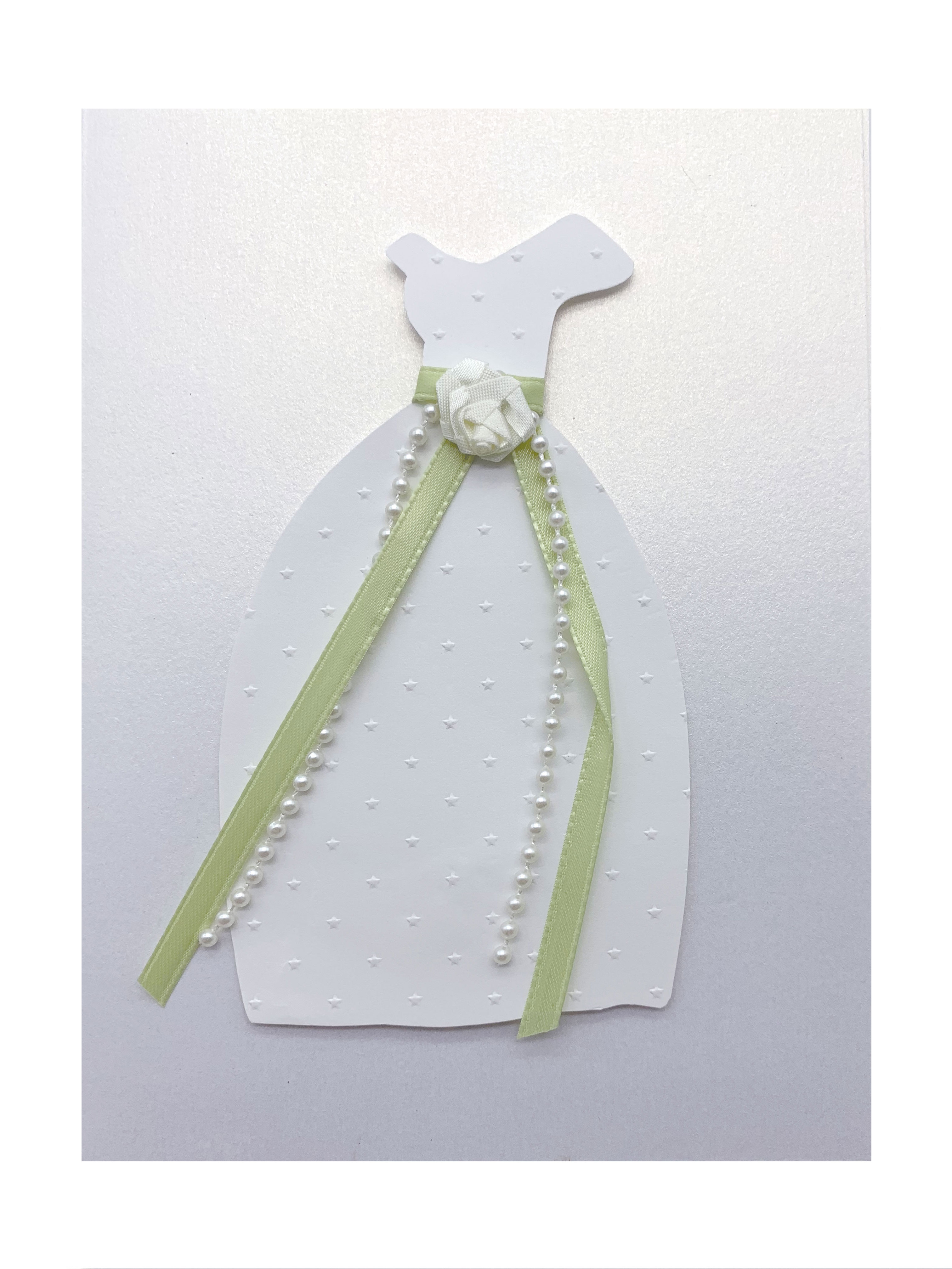 Wedding Dress - Isabella Handcrafted Cards