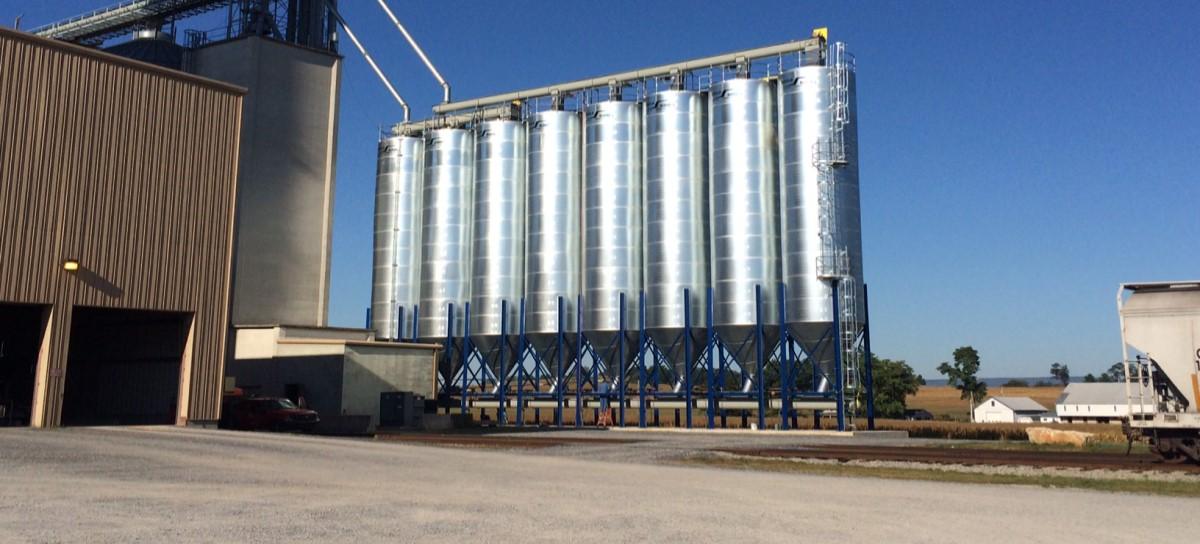 Feed Mill Bins