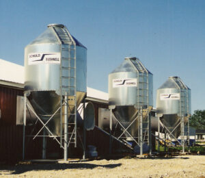 Galvanized feeding system