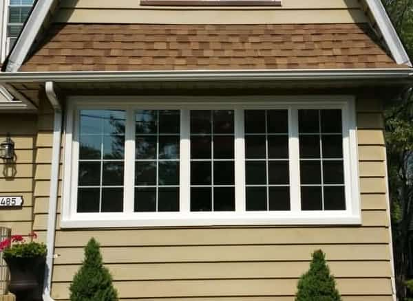 After-Double Hung converted to Casement with Grids