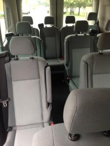 Ford Transit Interior 2015