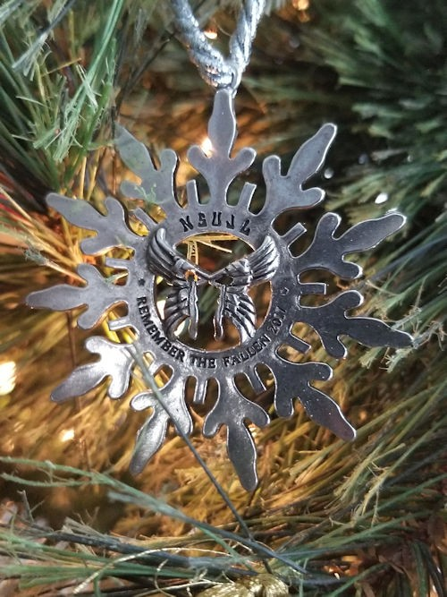 2017 Commemorative Fallen Linemen Ornament