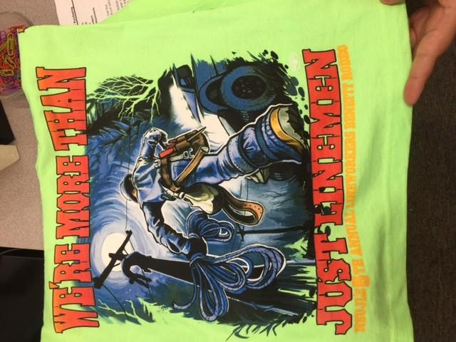 Hurtman rescue, more than Just Linemen T-shirt