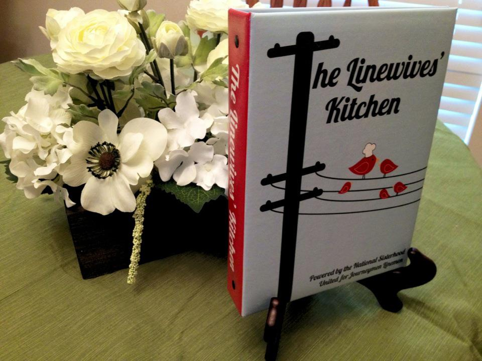 The Linewives' Kitchen Cookbook (Insert Only)