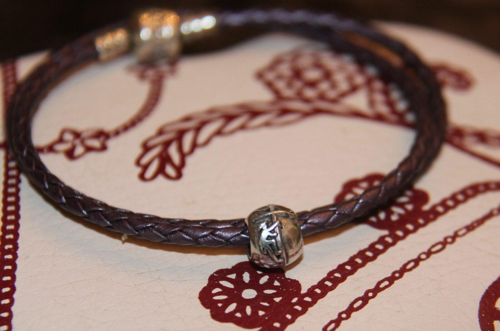 European Style Charm Bracelet beads- Lineman themed