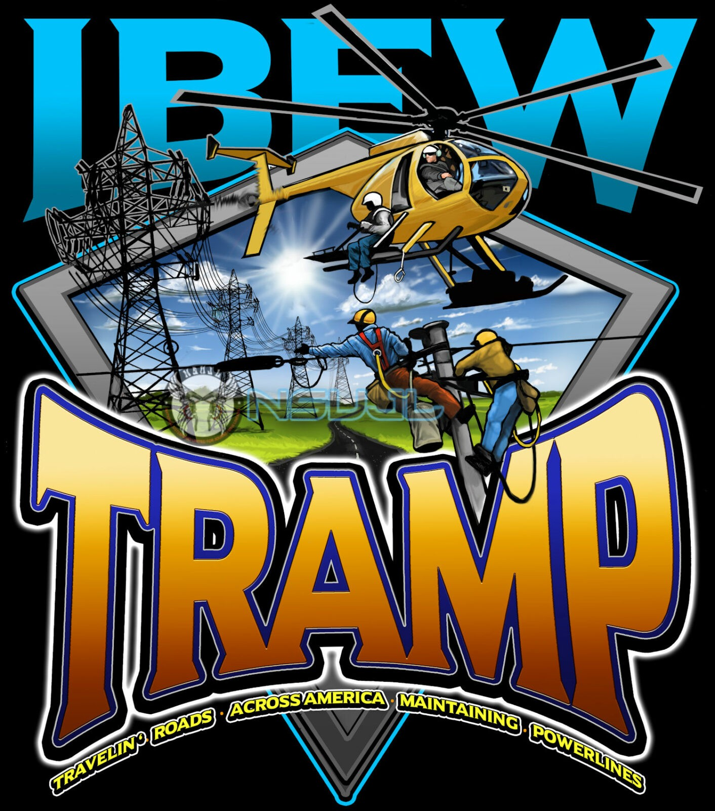 NSUJL's Tramp Lives Matter Tshirt fundraiser with IBEW Local 2