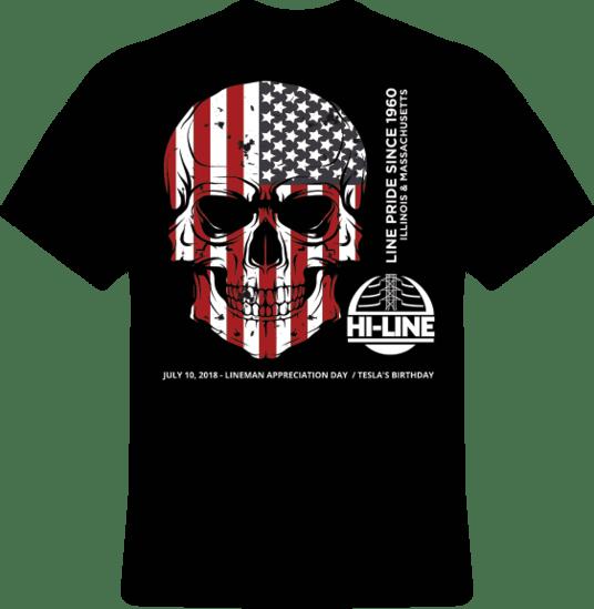 2018 Hi-Line Utility Supply Line Pride T-shirt
