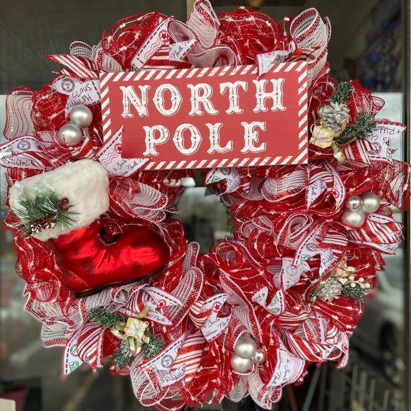 Santa's North Pole Wreath