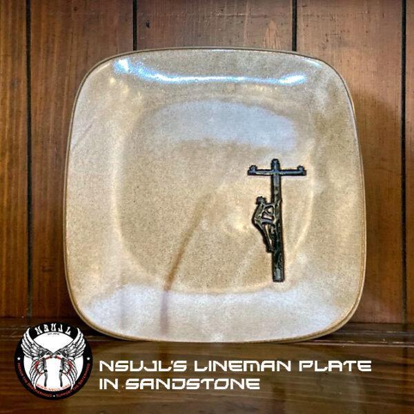 Lineman Pottery Dinner Plate