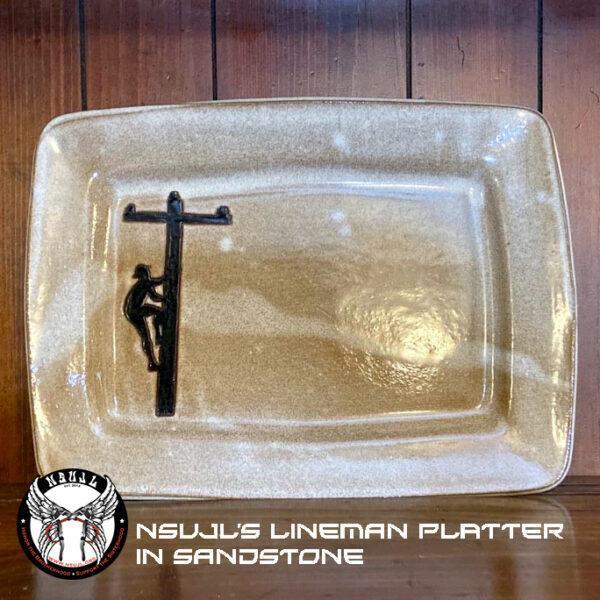 Lineman Pottery Platter