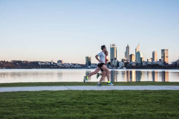 Runners in a suburb where Buyers Agents in Perth can help