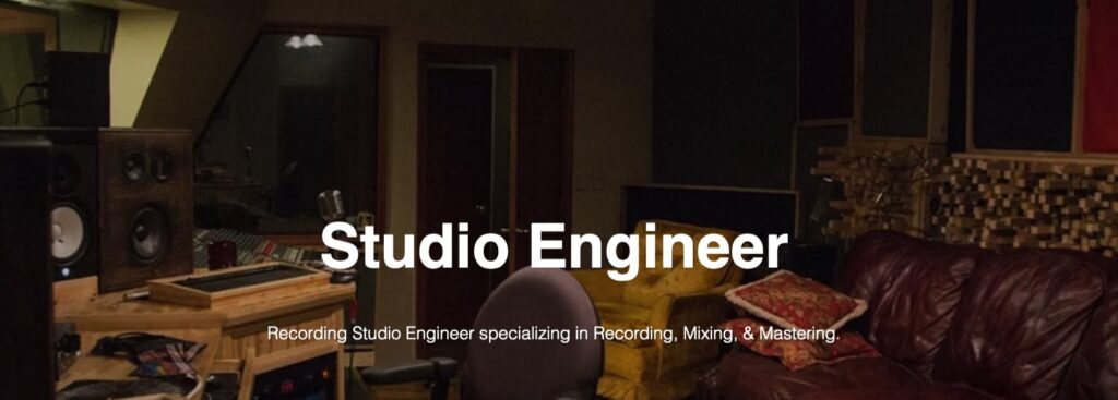 Recording Studio Engineer Cleveland Ohio