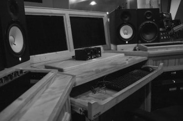 Recording and Mixing in my Recording Studio in Cleveland 1