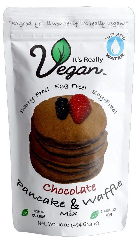 It's Really Vegan Chocolate Pancake and Waffle Mix