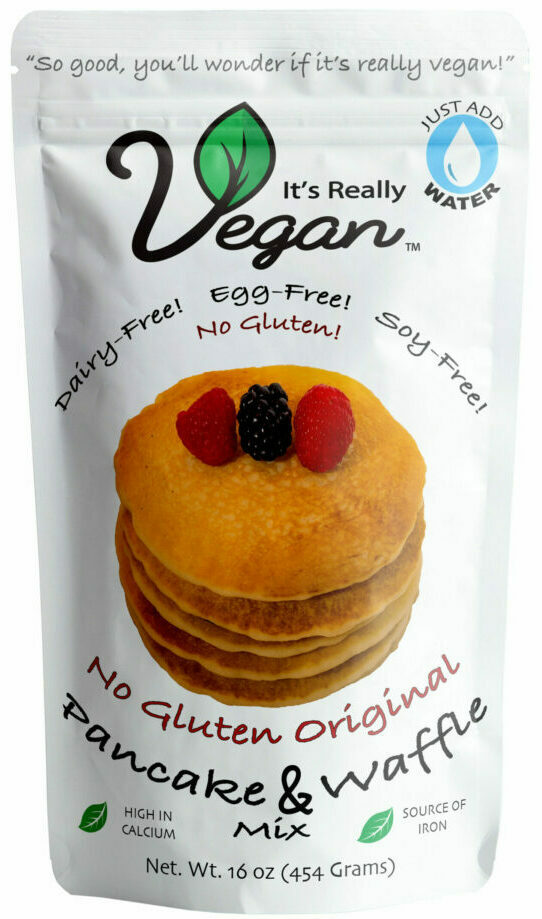It's Really Vegan No-Gluten Pancake & Waffle Mix