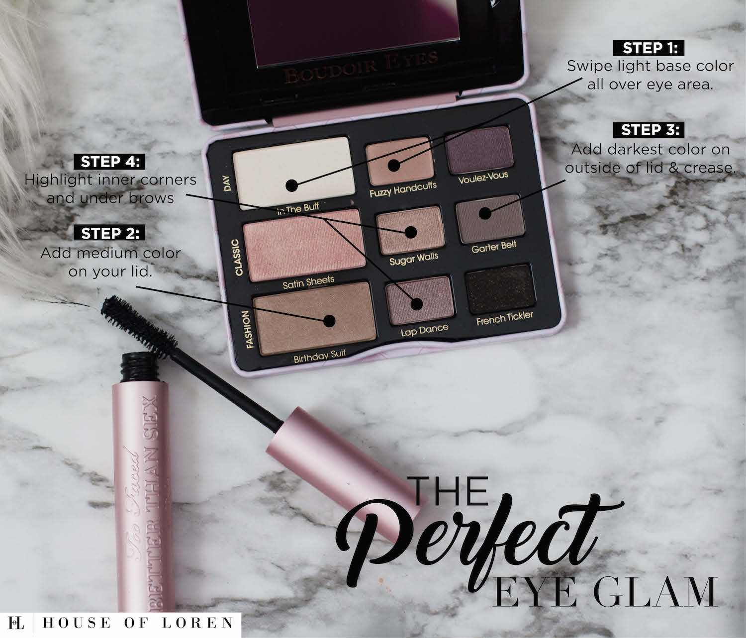 The Perfect Eye Glam Using Too Faced Products