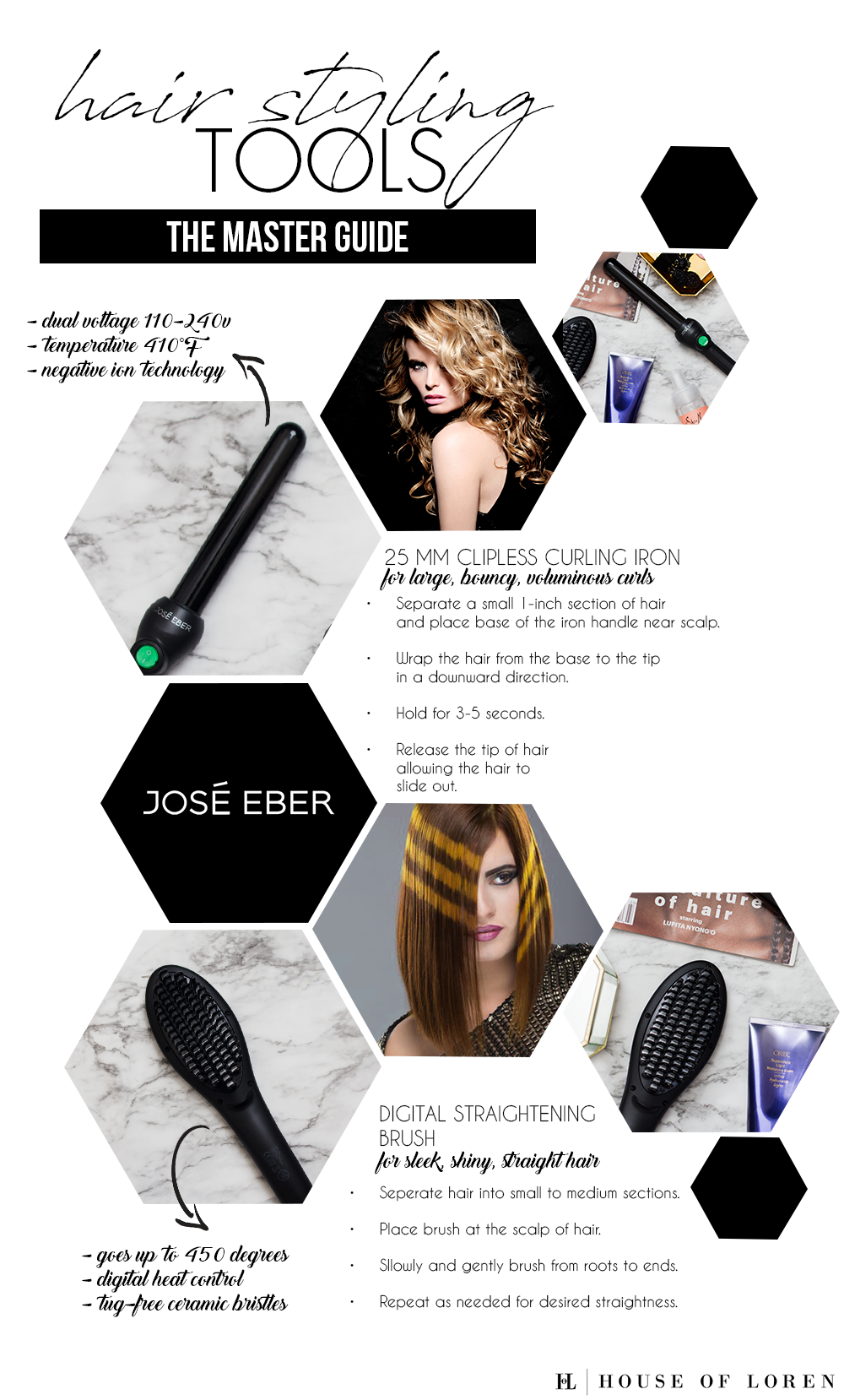 Pro Hair Styling Tips - House Of Loren