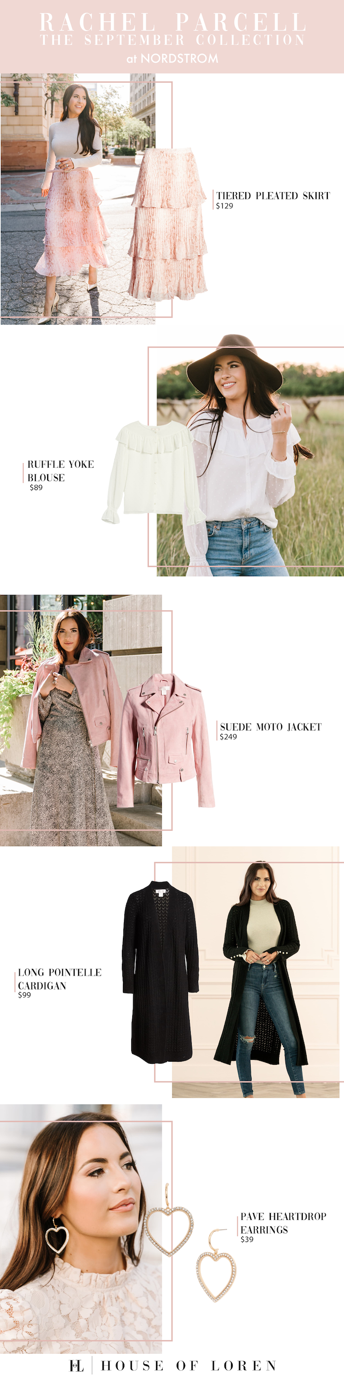 Rachel Parcell on Her Nordstrom Fall Collection