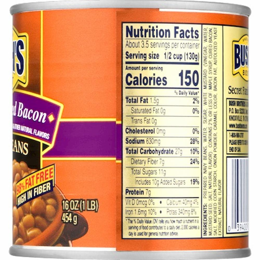 and Cured Bacon Baked Beans, 16 oz
