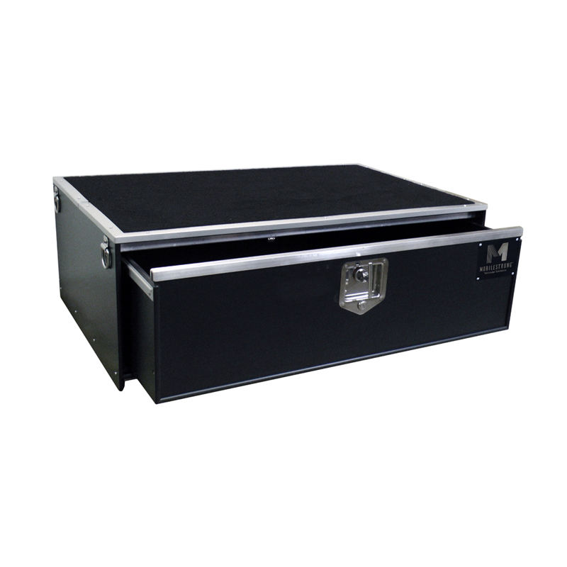"HDP SUV Single Storage Drawer 46.5"" Wide - Carpet Top"