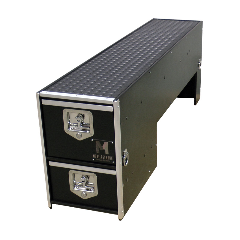 HDP Wheel Well Bed System Package - 2 Storage Drawers