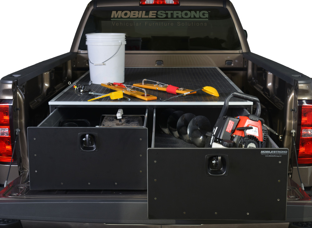 MobileStrong Storage Solutions  for Ice Fishing Gear