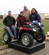 MobileStrong Team & ATV on Storage Drawer