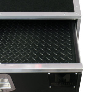 Black Rubber Drawer Liners