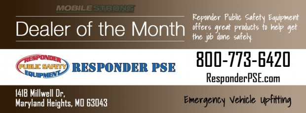 MobileStrong Dealer of the Month Responder Public Safety Equipment