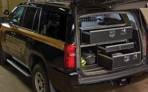 Storage Solutions for Law Enforcement & Public Service Vehicles
