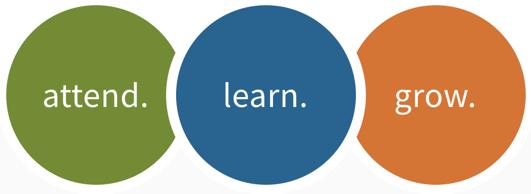 Attend Learn Grow