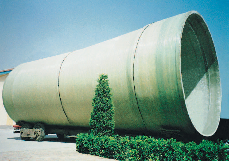 Large Size FRP Winding Pipe