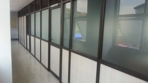 Aluminium Partition 1