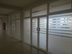 Aluminium Partition 3