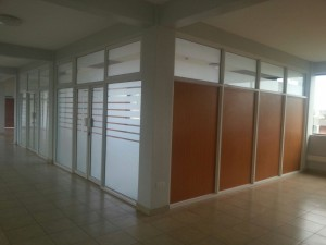 Aluminium Partition 4