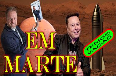 Temos Vagas de Emprego em Marte