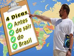 4 Dicas Que Todo Brasileiro Precisa Saber Antes de Sair do Brasil | Ganhar mais Dinheiro
