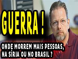 BRASIL x GUERRA