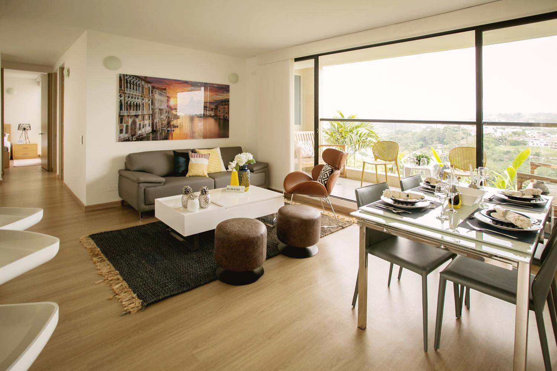 Apartamentos Premium Pereira Palma Sala Comedor