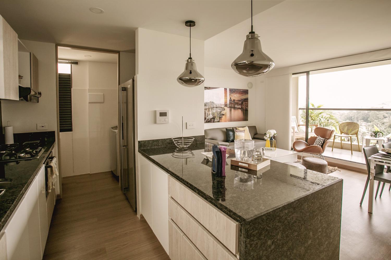 Vista interior Palma - Cocina