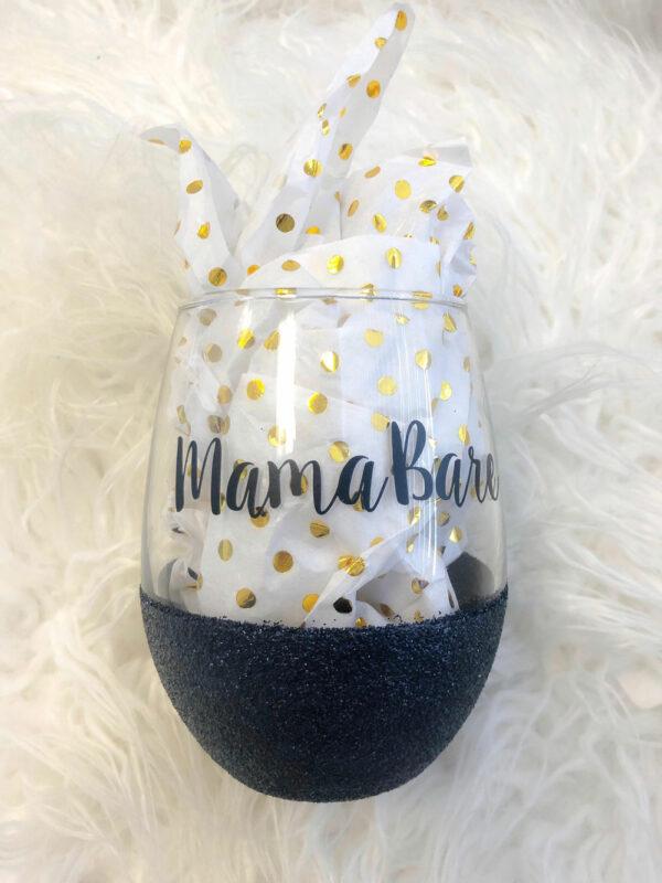 mamabare wine glass