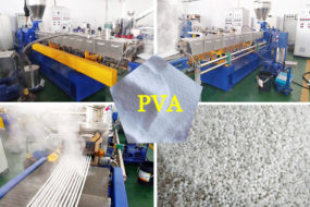 PVA application and PVA polymer processing into pellets