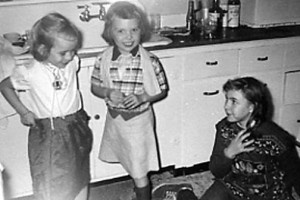 Patty Kathy  Carol Lou c1955