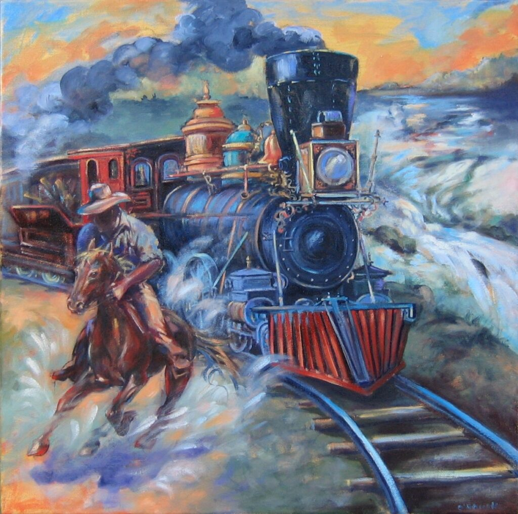 The First Train 1811
