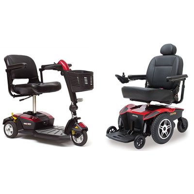 Electric Wheel Chair+Scooter