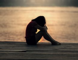 Woman all alone after losing her soulmate