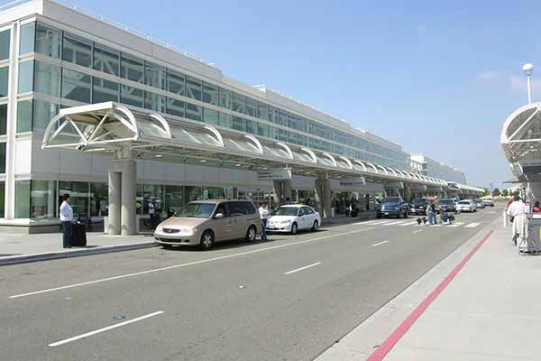 Curbside Drop Off Ontario Airport