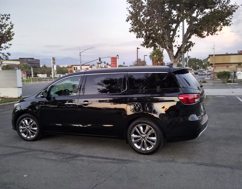 Luxury Van La Quinta to ontario airport