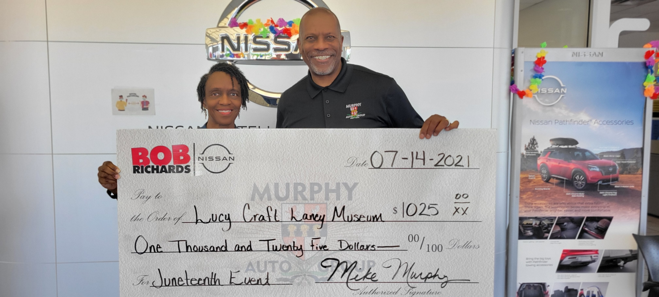 Donation from Murphy Auto Group