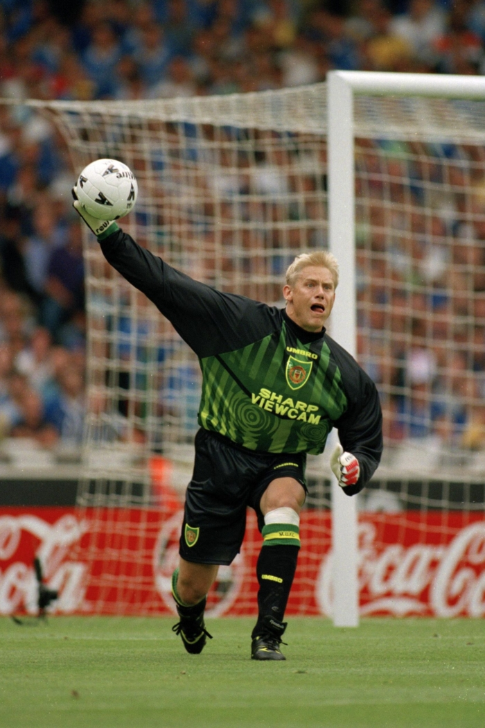 Sport. Football. pic: 3rd August 1997. FA. Charity Shield at Wembley. Manchester United beat Chelsea 4-2 on penalties